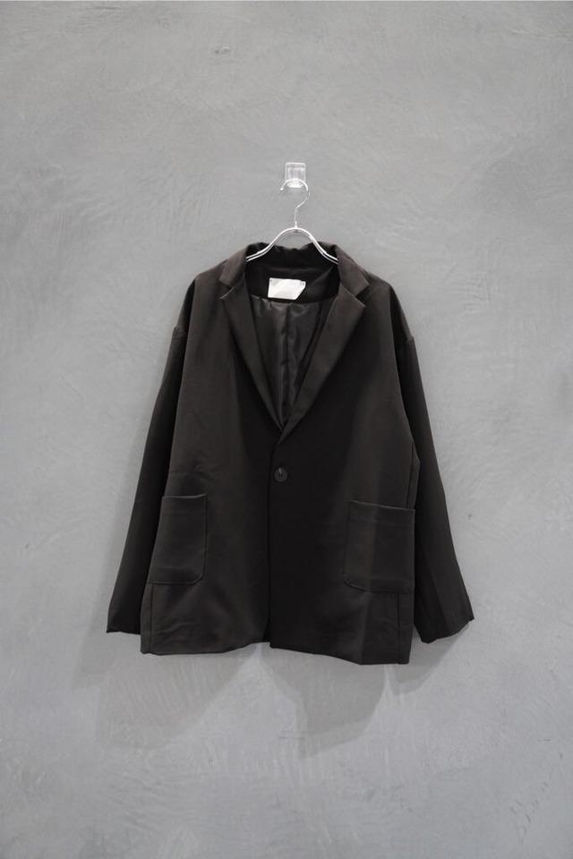 ℃℃℃ one botão tailor jk Black