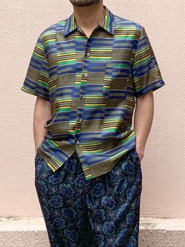 【BANANATIME】HAWAIIAN SHIRT: CHOCABLOCK BLUE