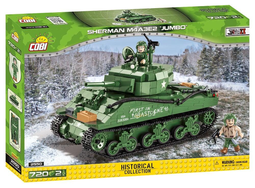 COBI #2550 M4A3E2 シャーマン ジャンボ