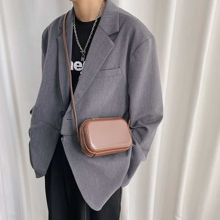 Oval small messenger bag   b-434
