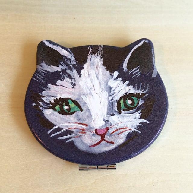 Nathalie Lete Compact Mirror Cat Souris ナタリーレテ  コンパクトミラー