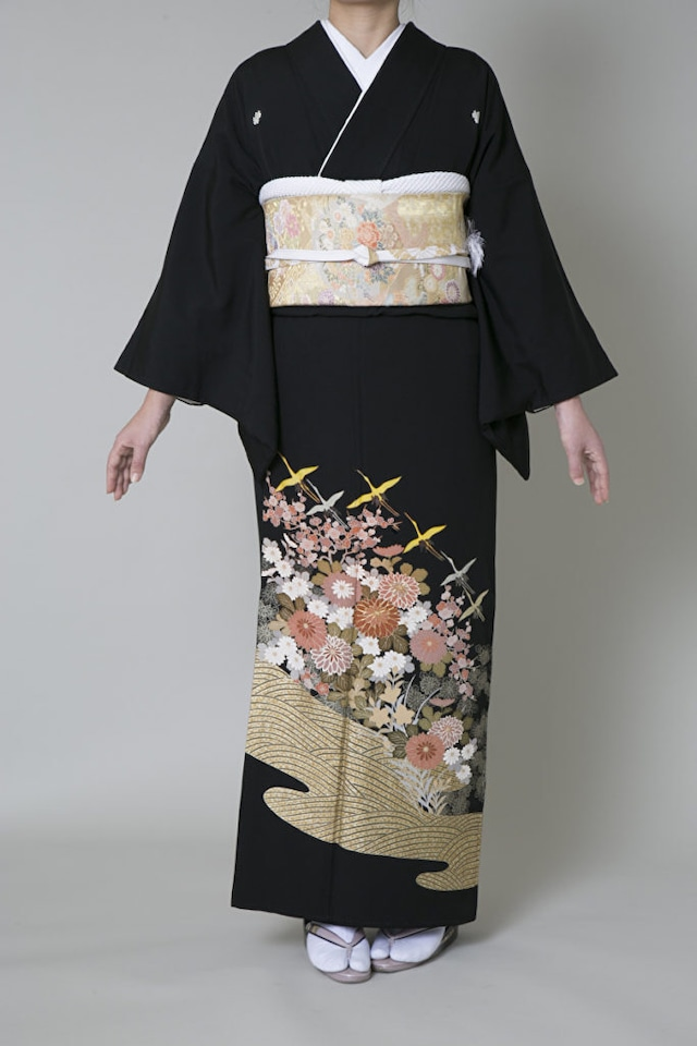 【レンタル】黒留袖 TAL-4(Lサイズ)
