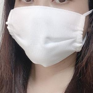 【日本製】肌に優しいシルクのさらしマスク