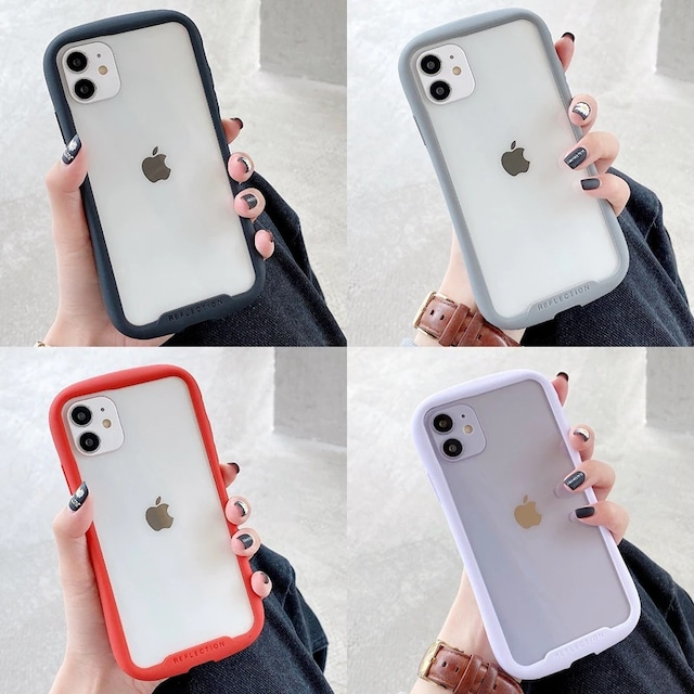 Color bumper iphone case
