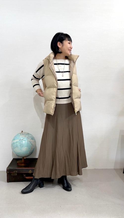 レディな印象のマーメイドスカート