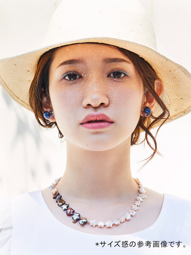 Bon-bon necklace(ボンボンネックレス )EMU-012pp ピンク