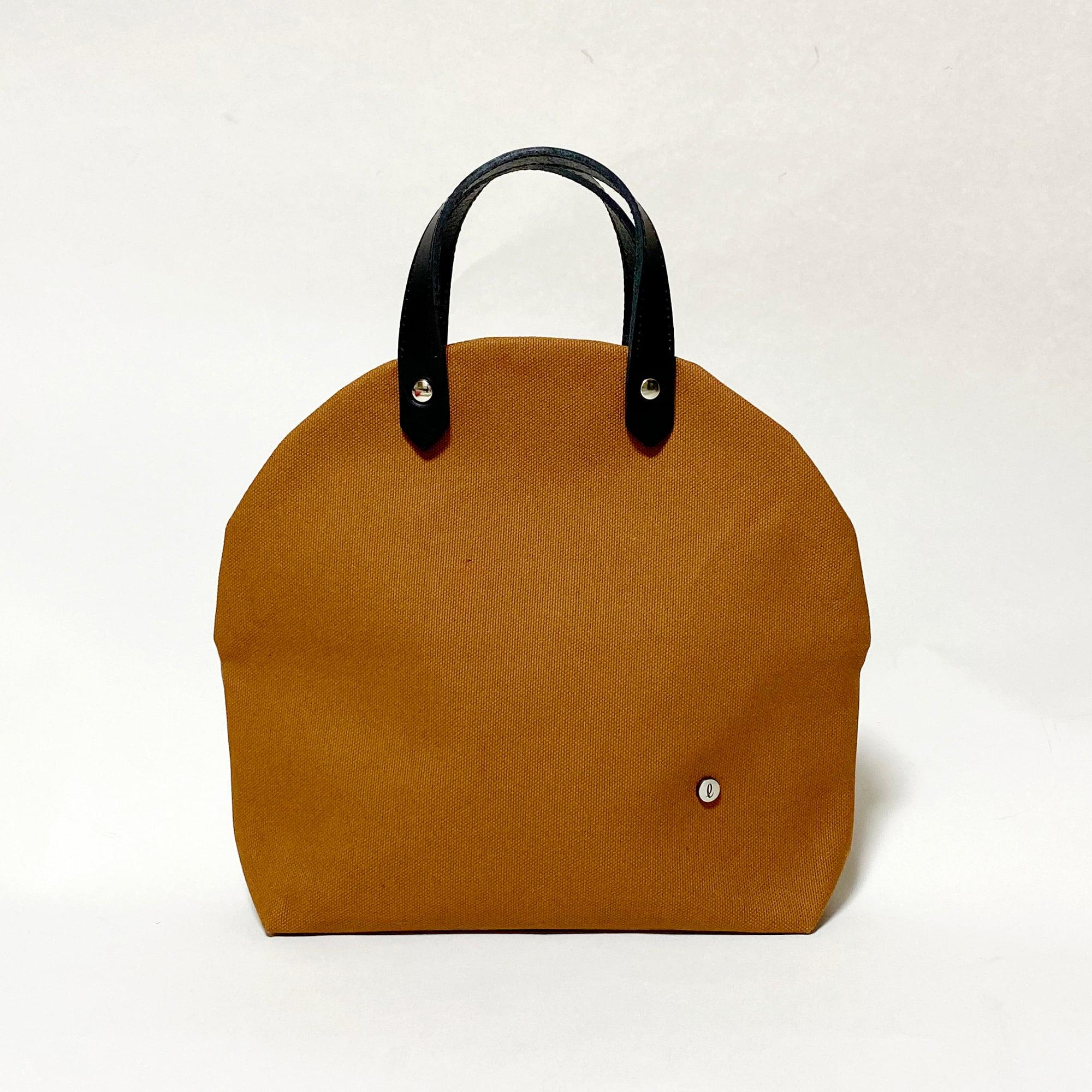 cupcake bag/acorn  カップケーキバッグ/ どんぐり色