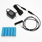 単3電池×6本用 ACアダプター接続ケーブル 1mセット品 [AABAT-6-R1M-SET]
