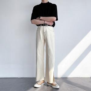 Slit split jeans   b-084