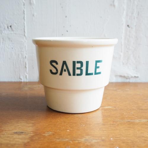 Sarreguemines(サルグミンヌ)のSABLE(砂)のポット