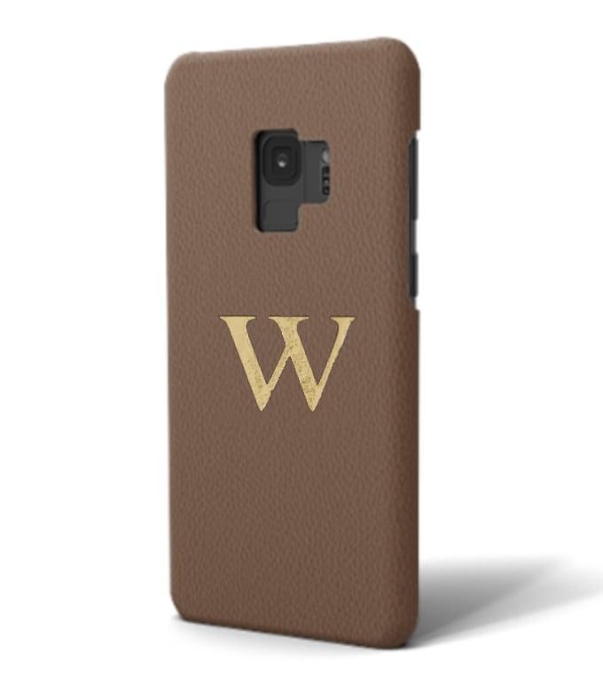 Galaxy Premium Smooth Leather Case (Chocolate)
