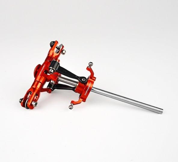 入荷済み◆OSHM2080 M2メタルアップグレードヘッド&スワッシュセット(オレンジ)(ネオヘリでM2購入者のみ購入可)