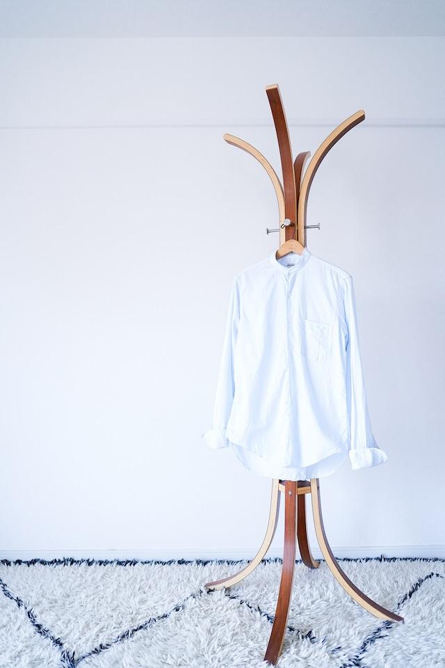 "【1960s】""US Vintage"" No-collar Dress Shirts / v610y"
