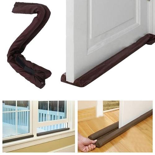 予約 ドアドラフトストッパー ドア隙間風ストッパー ドア下ドラフトブロッカー 防音 ドア下ギャップブロッカー 隙間風ダストとノイズを遮断 室内のほこりを防ぐ cw-a-3711