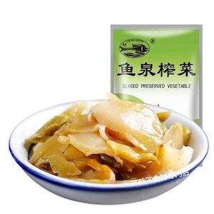 【常温便】羽泉榨菜片片脆(魚泉ザーサイスライス)
