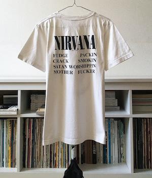 USED BAND T-shirt -NIRVANA / Circle-