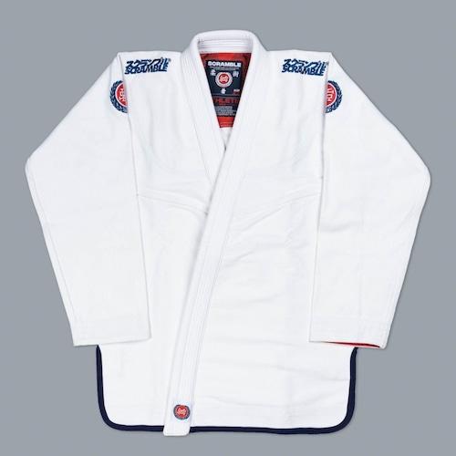 SCRAMBLE ATHLETE PRO ホワイト ブラジリアン柔術衣