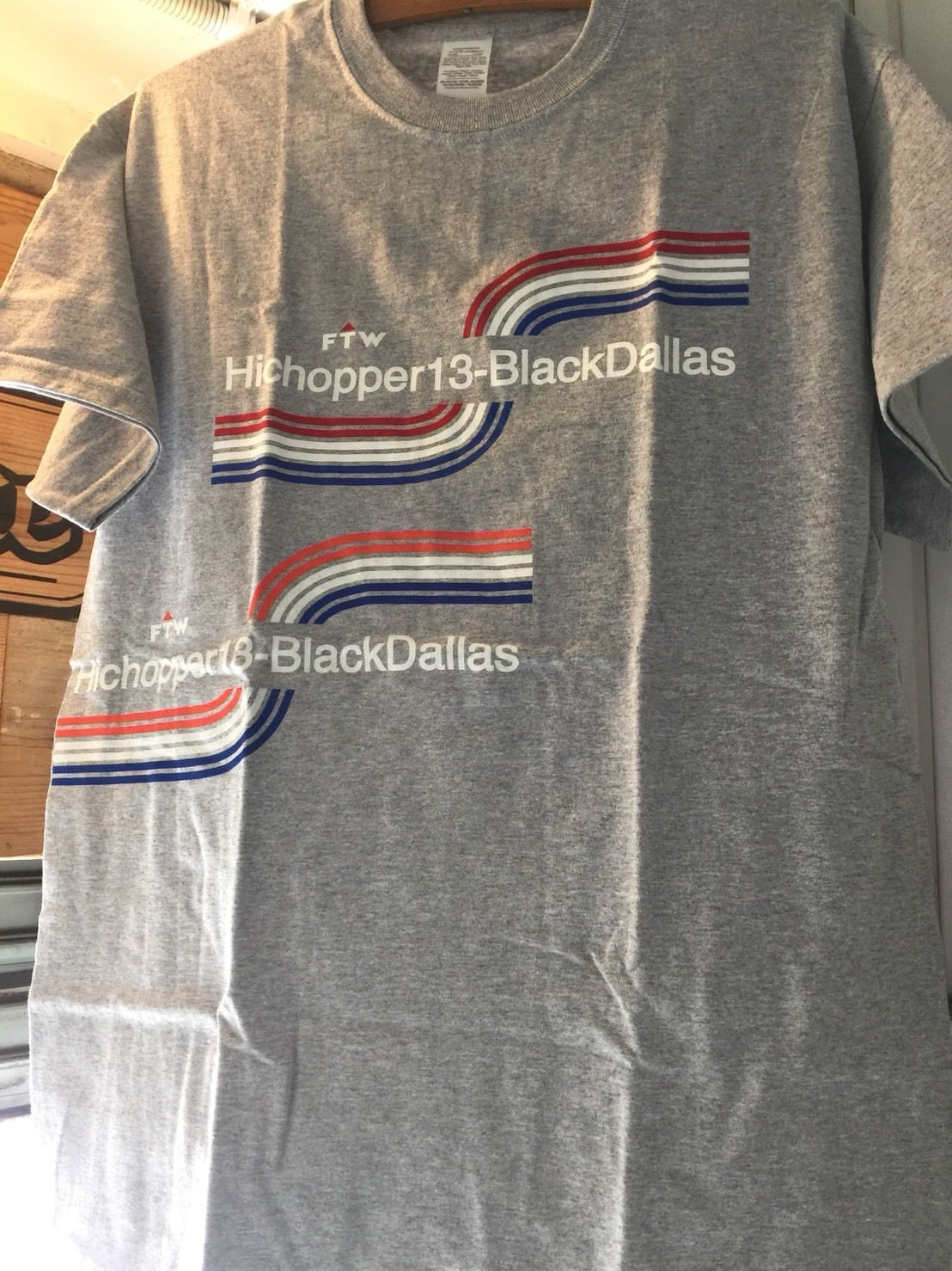 BLACK DALLAS × HICHOPPER13 2018MODEL TEE