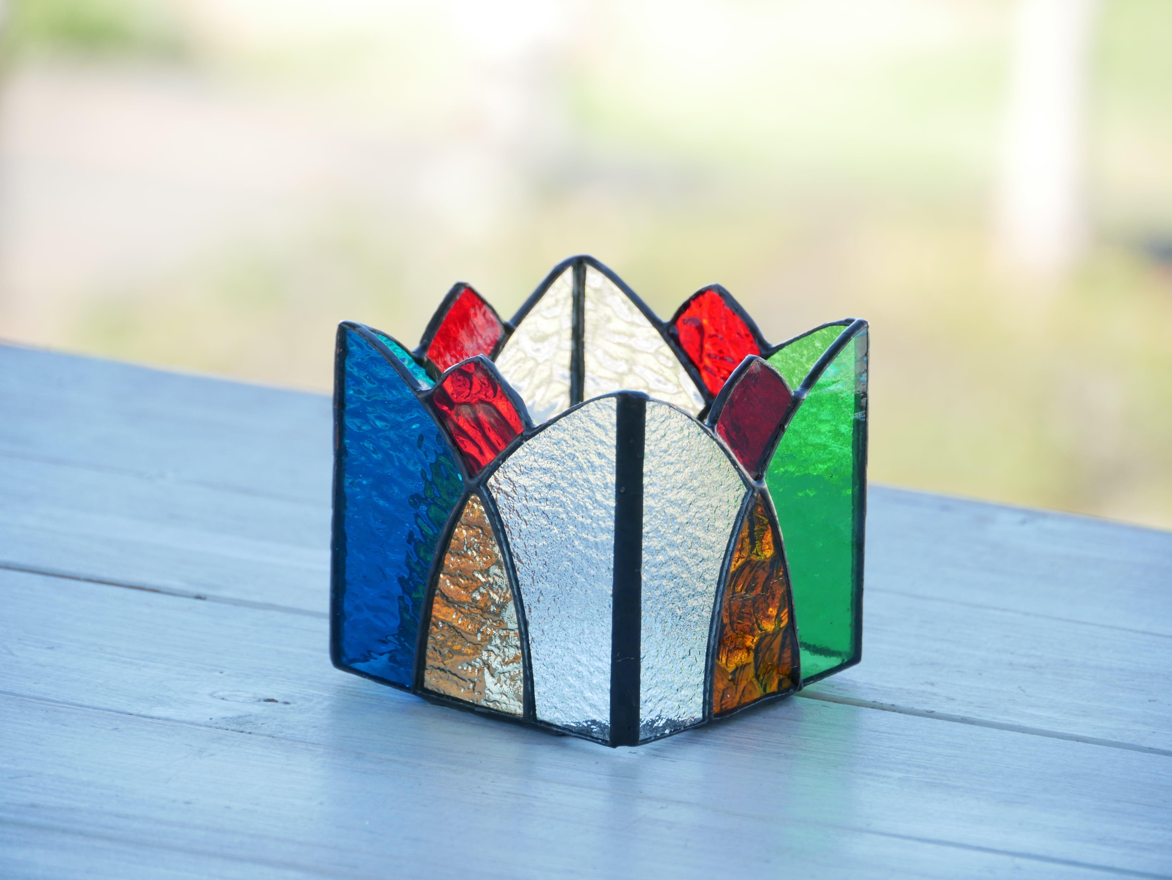 HK ティアラ模様のBOX