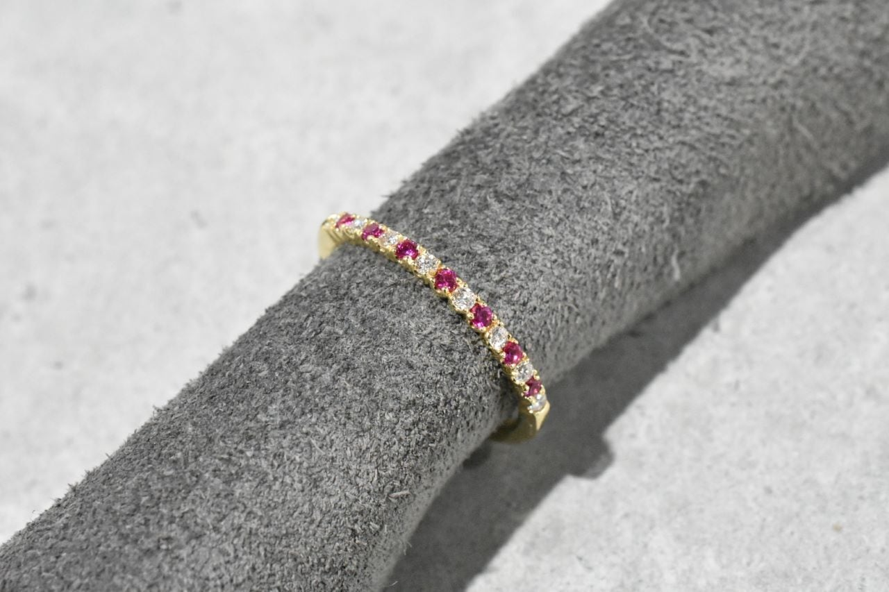 Ruby & Diamond Ring / K18YG