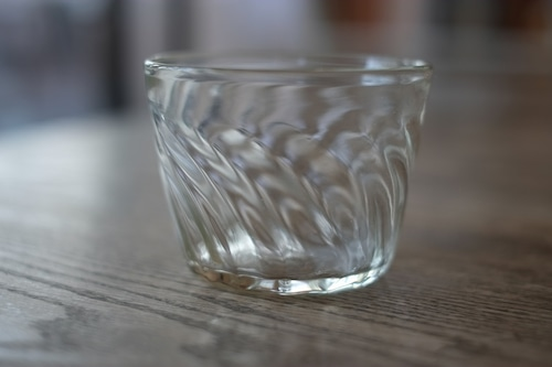 【カンナカガラス工房◆村松学】◆◆◆そば猪口◆透明◆◆