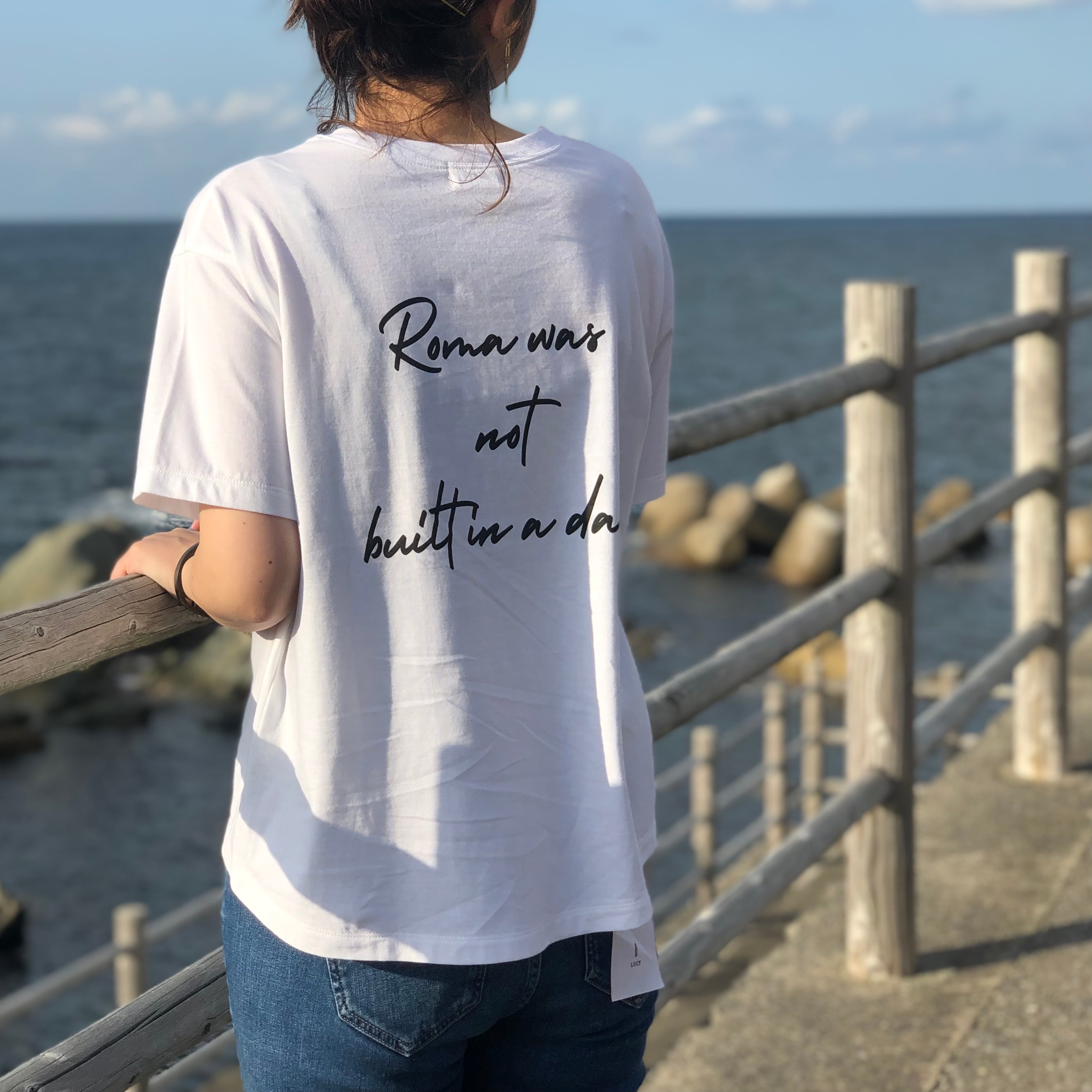 【 siro de labonte 】- R113219 - Roma Tシャツ