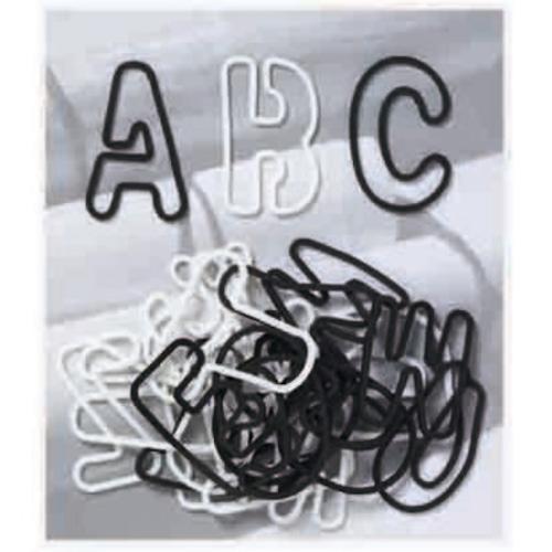 形状記憶の輪ゴム アルファベット モノトーンミックス  #252
