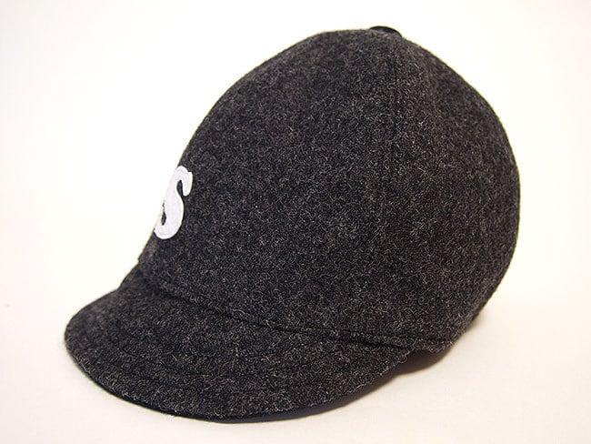 """ウール ベースボールキャップ 52㎝ """"WOOL BASE BALL CAP"""" (GRAY """"S"""" 52)"""