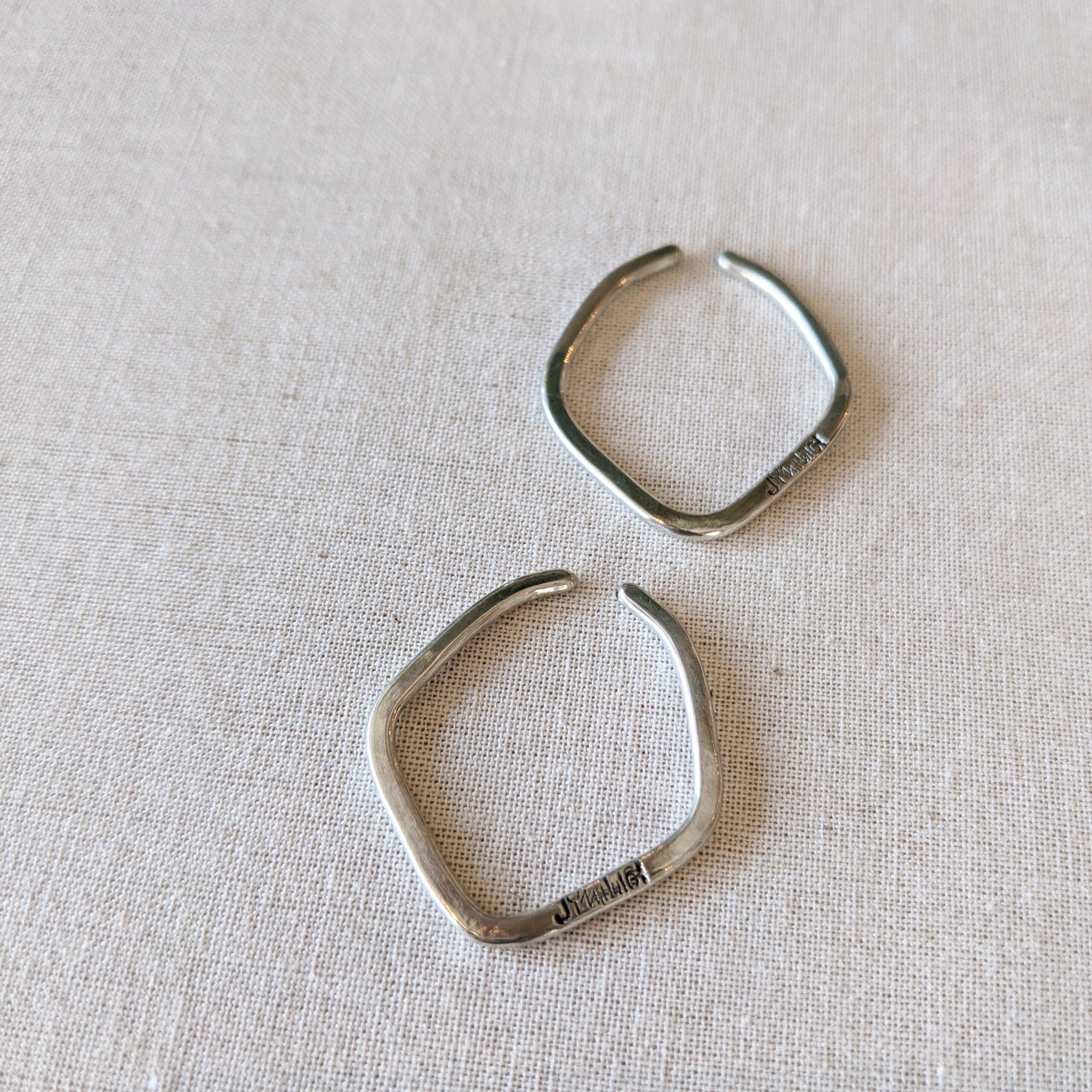 【 jomathwich 】silver earcuff  / 2本set item /  E-2  シルバーイヤーカフ