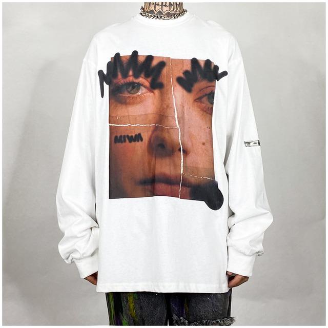 【トップス】ストリートプリントTシャツ42911004