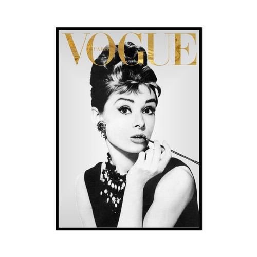 """VOGUE GM"" Audrey Hepburn - VOGUEシリーズ [SD-000575] A4サイズ ポスター単品"