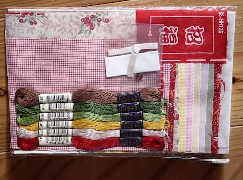 ホビーラホビーレ 宝船のタピストリーキット 日本刺繍縁起招福和柄古典七福神