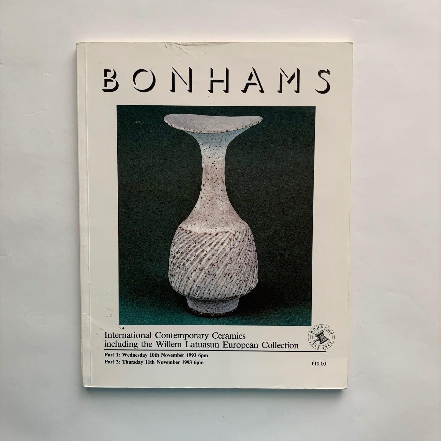 ボナムズ・オークションカタログ 1993年