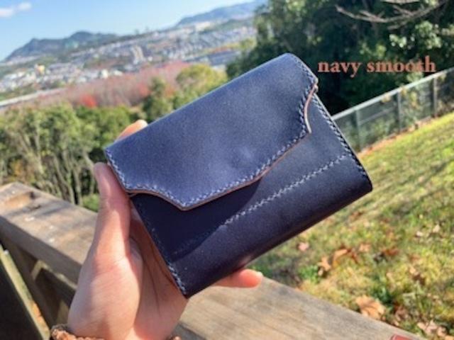 medium sumusu navy wallet