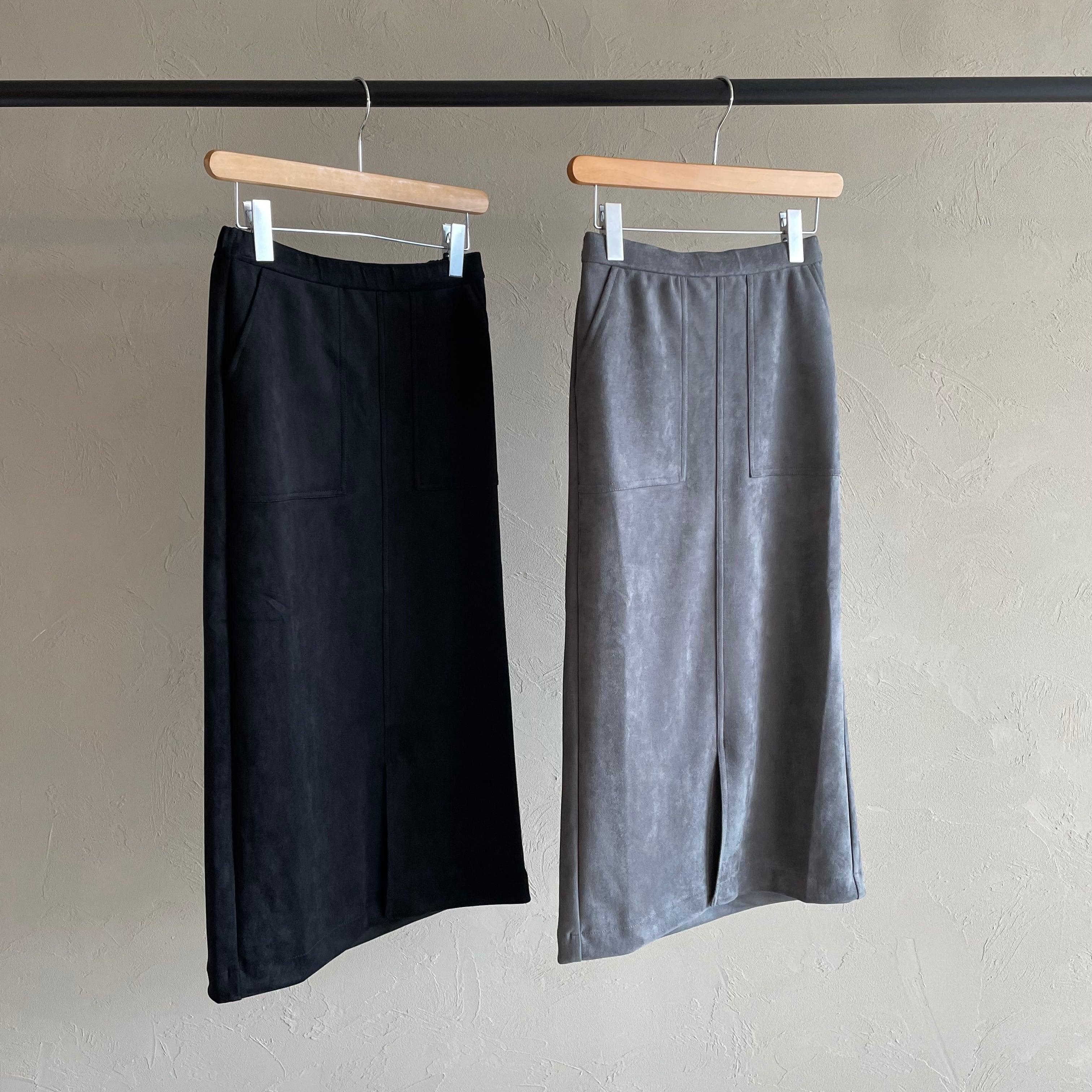 【 ROSIEE 】- R352733 - スウェードタイトスカート