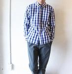 weac (ウィーク) / Basic Shirts(ベーシックシャツ)ブルーチェック