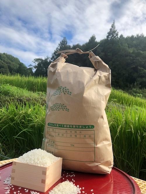 【白米20kg】愛媛 自家農園減農薬栽培あきたこまち令和3年産新米!