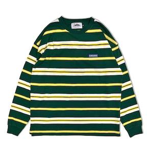 Striped L/S Shirts【Green】