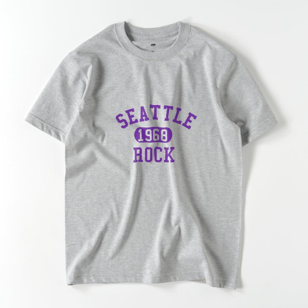 SEATTLE ROCK T (GREY)