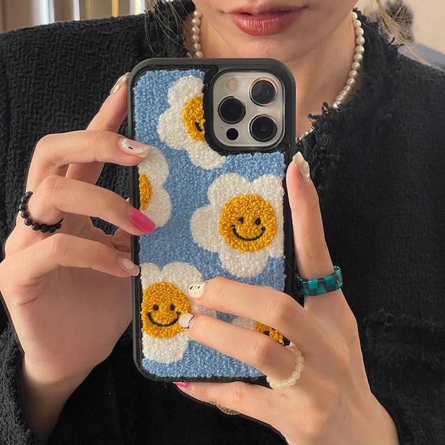 MokoMoko flower iphone case