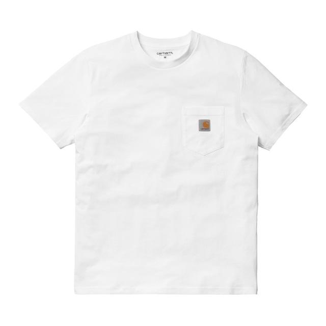Carhartt (カーハート)S/S POCKET T-SHIRT  WHITE