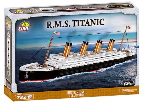 COBI #1929 RMS タイタニック (Titanic) 1/450 scale