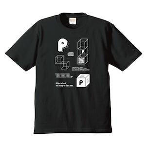 透明なHako T-shirt(黒)30枚限定