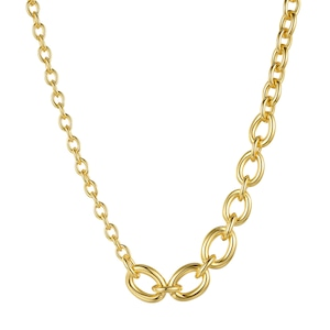 Mix chain necklace|ネックレス
