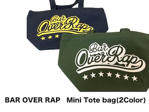 【BAR OVERRAP】 Mini Tote bag