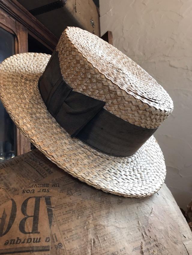 北フランス 帽子 ハットカンカン帽