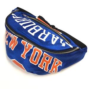 ウエストバッグ Waist bag sports blue 【waist002】