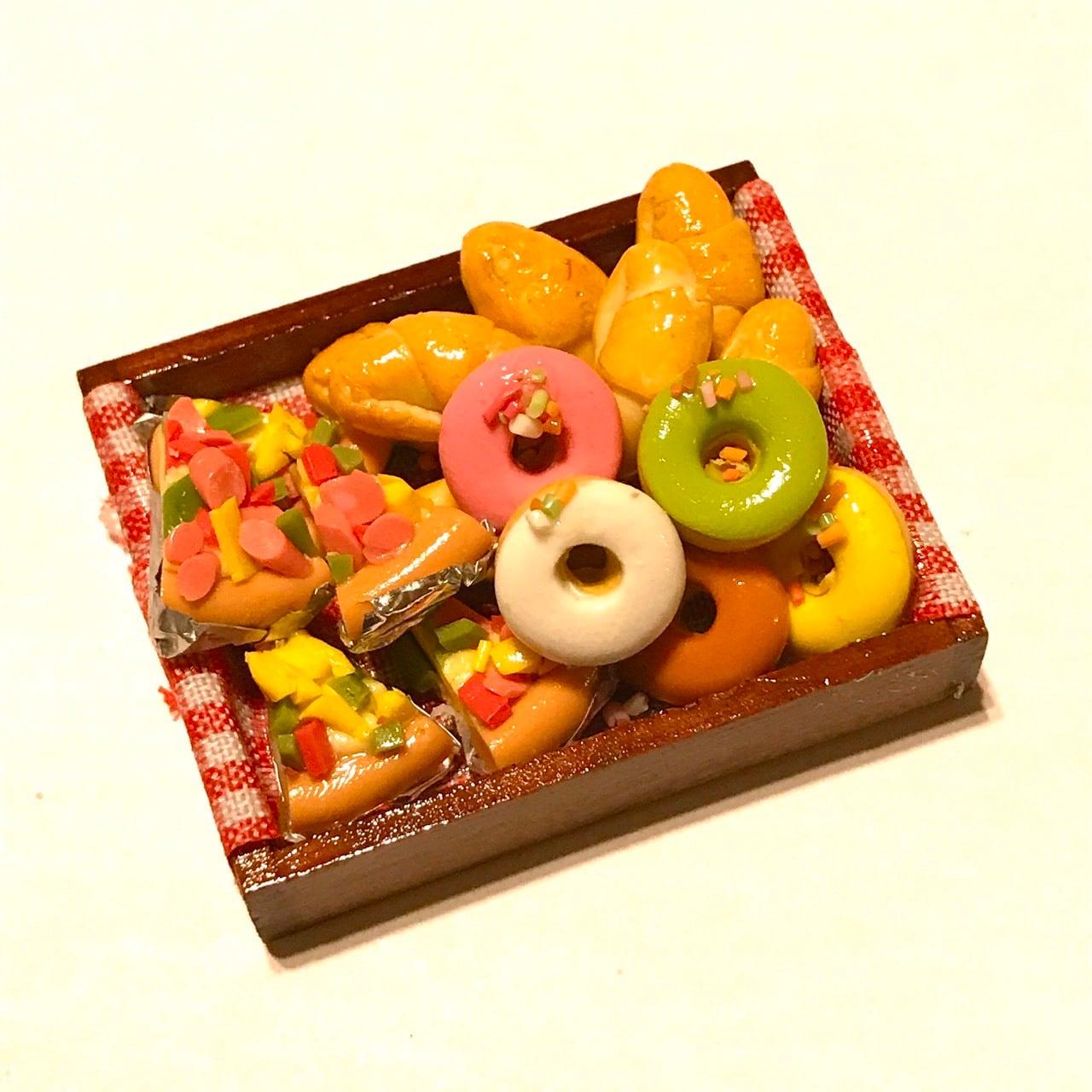 ミニチュアパン&ドーナッツセット(3)