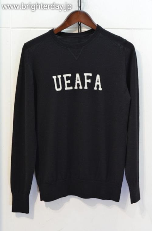 uniform experiment UEAFA ニット