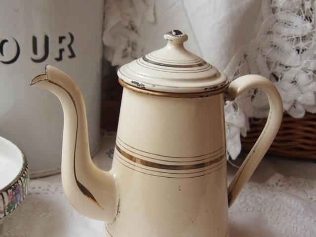 フランスアンティーク コーヒーポット